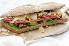 Broodje rosbief met truffelmayonaise - Lunch recept | SmaakMenutie