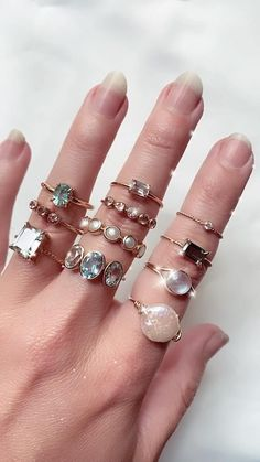 Luxury Jewelry, Bling Jewelry, Pearl Jewelry, Indian Jewelry, Jewelry Box, Jewelry Rings, Jewelery, Jewelry Accessories, Gold Rings