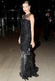 Beautiful in Black - art deco dress.