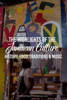 The Highlights of the Jamaican Culture – History, Food, Traditions & Music Jamaica sits in the heart of the Caribbean. The flag of Jamaica symbolizes and represents the country through its colors. The Yellow is for the sunshine and the natural wealth of the country. The Green is for hope and the luscious nature of the country. The Black represents the creative and passionate people of Jamaica.