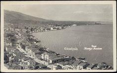 turkey, SMYRNA SMYRNE IZMIR, Güzelyalı (1940s) RPPC
