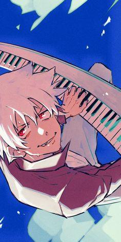 Soul Eater Stein, Soul Eater Death, Soul Eater Evans, Soul And Maka, Anime Soul, Anime Art, Soul Eater Funny, Hello America, Anime Lock Screen