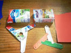 Bumerangue de material Reciclado: Faça você mesmo um Bumerangue de Papel e reciclados!