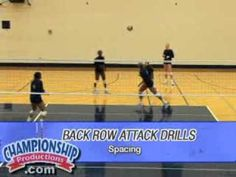 Russ Rose'S Back Row Volleyball Attack