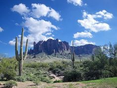 The Superstition Mountains