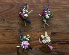 100 Layer Cake: 4 Gorgeous DIY Boutonnières