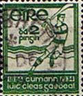 Postage Stamps of Eire Ireland 1934 Gaelic Athletic Association SG 98 Fine Used Scott 88 Other European and British Commonwealth Stamps HERE! Commonwealth, Postage Stamps, Ireland, Irish, Europe, How To Apply, Paintings, Athletic, Vintage