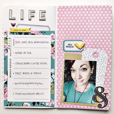 "182 Likes, 6 Comments - andrea gray (@retrohipmama) on Instagram: ""I hung out with the @gossamerblue April Life Pages kit to create this weekly overview in my TN. The…"""