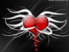 Abstract Heart Wallpaper