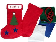 felt christmas stocking beginning sewing project for kids holiday christmas crafts pinterest felt christmas stockings felt christmas and - Christmas Stockings For Kids
