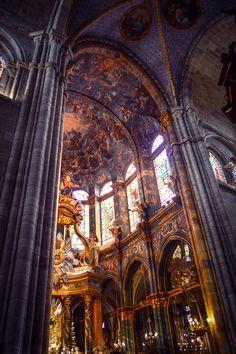 Interior de la Catedral de Lugo (Lugo - Spain)