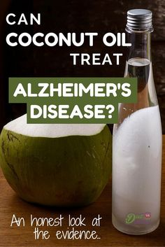 The unique nutrients in coconut oil are thought to benefit metabolism, heart health and maybe even brain health. Many experts claim it can even prevent and treat forms of dementia, particularly Alzheimer's disease… But what does the research actually tell us? See the breakdown here: http://www.dietvsdisease.org/coconut-oil-alzheimers-disease/