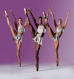 ashanimfuko:  DANCE THEATRE OF HARLEM COMPANY!Dancers: Chyrstyn Fentroy, Ashley Murphy, Gabrielle Salvattohttp://youtu.be/wYDFiPA_Ul8