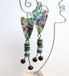 Way Fun Earrings by droolworthy on Etsy, $24.00