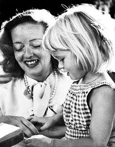 Bette Davis and her daughter Barbara
