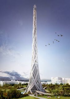 Taiwan Tower Competition Entry
