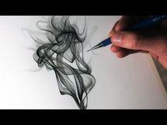 How to Draw Smoke - YouTube