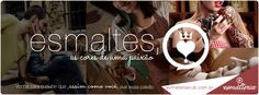 """Que tal receber esmaltes nacionais e internacionais sem sair de casa? Agora você pode assinar a EsmalteriaClub ( http://www.esmalteriaclub.com.br/ ), o primeiro clube de assinaturas de esmaltes do Brasil.  Receba mensalmente em sua casa novas marcas, lançamentos, produtos diferenciados e muito mais, tudo isso dentro de super caixinhas temáticas.  """"Compartilhe"""" também a EsmalteriaClub com suas amigas!  #esmalteriaclub #esmaltes #nailart"""