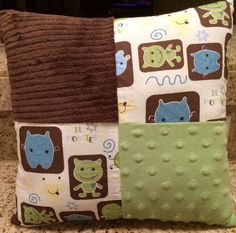 Cocalo Peek a boo monsters ~Nursery Pillow  by Hipbabydecor on Etsy https://www.etsy.com/listing/210452475/cocalo-peek-a-boo-monsters-nursery