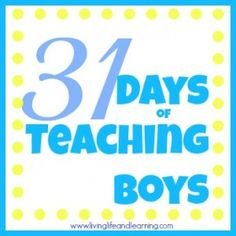Finding My Boys Learning Styles #Homeschool | livinglifeandlearning.com  @Monique