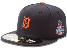 Detroit Tigers 2012 Official World Series Road 59Fifty On Field Fitted Hat by New Era. $23.99. Closed back. Six panel construction with eyelet vents. Officially licensed. 2012 World Series 59FIFTY On Field Fitted Hat. Raised embroidered team design. Get your head in the game and proudly show your loyalty with this Detroit Tigers 2012 Official World Series Road 59FIFTY On Field Fitted Hat. Brought to you by New Era, this 2012 World Series hat is the same one worn on the fi...