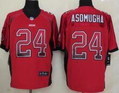 Nike San Francisco 49ers #24 Nnamdi Asomugha 2013 Drift Fashion Red Elite Jersey