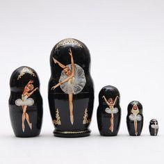 Matryoshka nesting doll Ballet Dancer Free shipping Worldwide