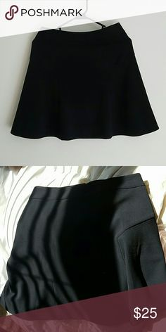 Skirt Casual black skirt from express it goes with everything! Express Skirts