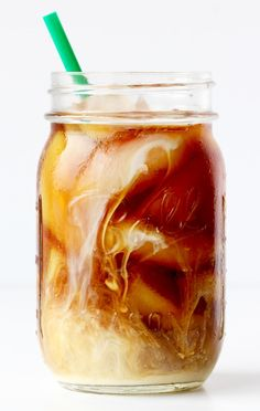 Easy Cold Brew Coffee Recipe! ~ from TheFrugalGirls.com ~ the perfect way to cool down on a hot day!  Pure coffee perfection with each sip!