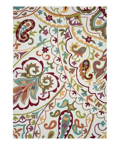 Look at this #zulilyfind! Ivory Juliana Rug by Loloi Rugs #zulilyfinds