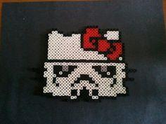 Peeler bead hello kitty storm trooper by @Charles Powell