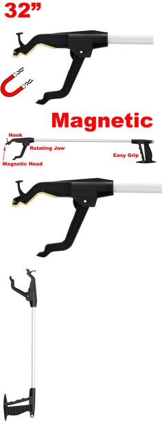 Reacher Grabbers: Long Reaching Tool Heavy Duty Magnetic Grabber Grip Aid Handicap Reaching 32 -> BUY IT NOW ONLY: $31.77 on eBay!