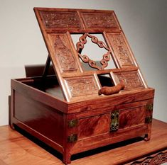 Ming Dynasty Furniture Shanghai Museum Luohan Bed With