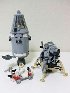 Apollo moon mission | LEGO suzuki