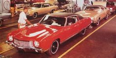 1970 Chevrolet Monte Carlo assembly line Chevy Models, Truck Quotes, Chevy Muscle Cars, Chevrolet Monte Carlo, Assembly Line, Us Cars, Car Photography, Car Photos, Buick