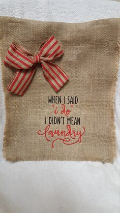 Anniversary Flag, Mother's Day, Hostess Gift, Burlap Garden Flag, Laundry Flag, Welcome Flag, Wedding Flag, Bride and Groom Gift, Fun Flag by Marijeans on Etsy