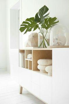 Estilo Nórdico. Plantas+Maderas Naturales+Diseño