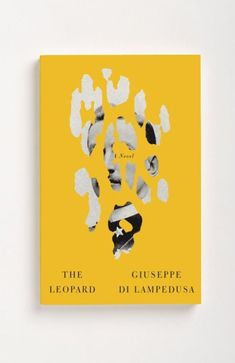 The Leopard by Giuseppe Di Lampedusa / Book Cover Design / Minimalistic / Yellow / Pattern / Inspiration / Photography Graphic Design Books, Graphic Design Typography, Graphic Design Inspiration, Magazine Ideas, Magazine Design, Graphisches Design, Buch Design, Design Ideas, Book Design Graphique