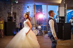 Bride and groom perform first dance at Durlston castle wedding venue Sand Ceremony, Civil Ceremony, Wedding First Dance, Seaside Theme, Wedding Breakfast, Newlyweds, Perfect Wedding, Wedding Venues, Groom