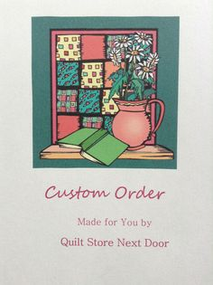 Request A Custom Order – Quilt Store Next Door Next Door, Quilts, Store, Comforters, Tent, Quilt Sets, Larger, Kilts, Business