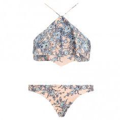 Porcelain Waterfall Bikini - The Latest