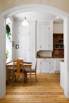 We are planning to turn our too small dining room into a butler's pantry and moving the dining room into our formal living room. Anyone have pictures of butler's pantries to share? We also want to incorporate a desk area as well. Thanks!