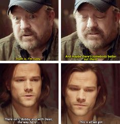 [gifset] SPOILERS 10x17 Inside Man #SPN - Gah, Sam just looks so beaten. Baby needs a vacation...
