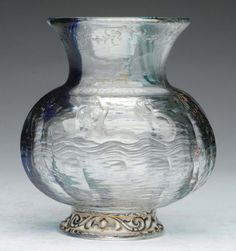 Lot: Art Glass Vase., Lot Number: 1165, Starting Bid: $250, Auctioneer: Dan Morphy Auctions, Auction: Fine & Decorative Arts Day 2, Date: August 31st, 2014 GMT