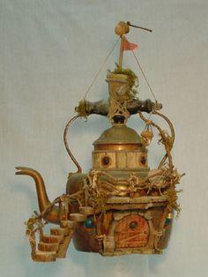 Arthur Millican Jr., fairy teapot house