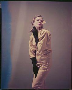 Lillian Marcuson March 1954, photo by Milton Greene