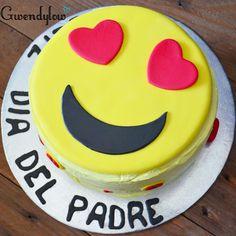Tarta Emoji Enamorado - Día del padre - Ñam, Ñam!!!