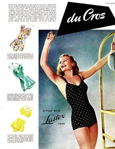 not to be old fashioned at the age of 17 or anything, but i really wish swimsuits were still like this.