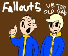 Fallout 5 Fallout Vault, Funny Pictures, Boys, Fictional Characters, Art, Fanny Pics, Baby Boys, Art Background, Funny Pics
