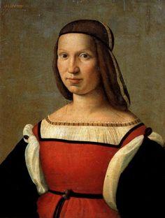 Ridolfo Ghirlandaio Portrait of a Woman (1509) Galleria Palatina · Palazzo Pitti, Florence